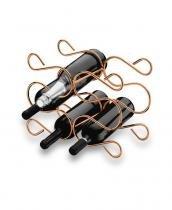 Adega p/ 6 garrafas - cobre - Future