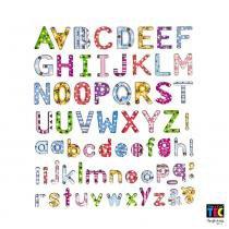 Adesivo Artesanal Alfabeto Estampado 6838 Toke - 1