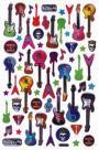 Adesivo Cristal c/Brilho Guitarras AD926 TEC - Toke e Crie