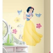 Adesivo de Parede Infantil Branca de Neve Gigante - Disney Princesas Removível - Roommates - Roommates