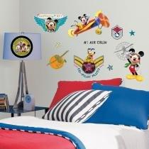 Adesivo de Parede Infantil Mickey Mouse Club House Disney Removível - Roommates - Roommates