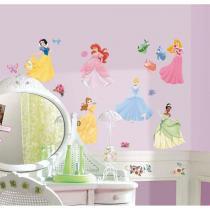 Adesivo de Parede Infantil Princesas Disney Removível - Roommates - Roommates