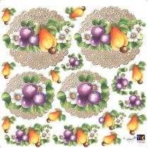 Adesivo Decorativo Frutas TDM-04 - Toke e Crie by Mamiko -