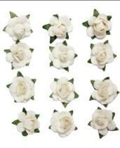 Adesivo Flor Mini Marfim AD1189 Toke e Crie - Toke e Crie