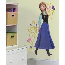 Adesivo removível infantil Frozen Disney Anna Gigante - Roommates - Roommates