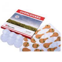 Adesivo Rycote com protetor de vento para microfones lapela - Branco - Rycote