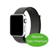 Adesivo Skin Premium - Jateado Fosco Apple Watch 38mm Series 3 -