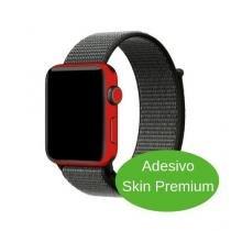 Adesivo Skin Premium - Jateado Fosco Apple Watch 38mm Series 3 - Skin premium