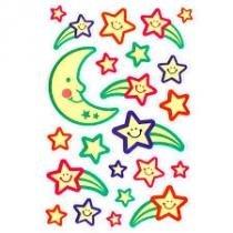 Adesivos Luminosos Ii Luas E Estrelas 17873 Toke E Crie - 1