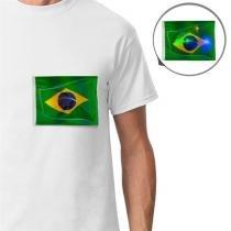 72ba358db2394 Adesivos para Camiseta Verde Amarelo 4 unidades Modelo 2 Brasil - festabox