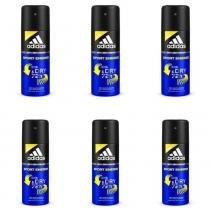 Adidas Sport Energy Masculino Desodorante Aerosol 150ml (Kit C 06) - ec63cabadf30b