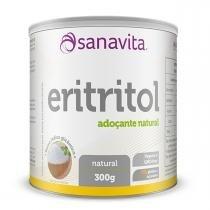 Adoçante Natural ERITRITOL - Sanavita - 300g -