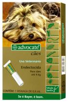 Advocate Cães Até 4kg- 1 Bisnaga Bayer
