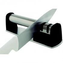 Afiador e polidor de facas em aço inox linha do assador mor 3903 -