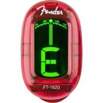 Afinador Cromático California Series FT-1620 Vermelho FENDER. -