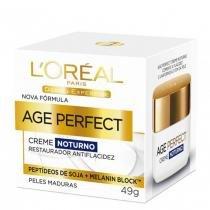 Age Perfect Noturno Dermo Expertise Loréal Paris - Rejuvenescedor Facial - 49g - LOréal Paris