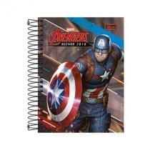 Agenda Avengers espiral - 2018 - Capitão América -  Tilibra -