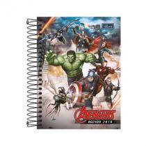 Agenda Avengers espiral - 2018 - Vingadores -  Tilibra -