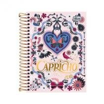 Agenda capricho espiral - 2018 - butterfly - tilibra - Tilibra