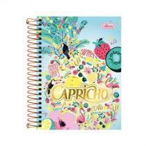 Agenda Capricho espiral - 2018 - Good vibes  - Tilibra -