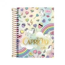 Agenda capricho espiral - 2018 - unicorn - tilibra - Tilibra