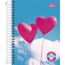 Agenda Tilibra Espiral Diária PEPPER Feminina 2018 Mod Coração -