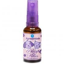 Agressividade 30 ml spray Polinize Florais -
