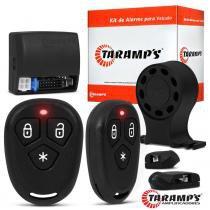 Alarme carro automotivo taramps para veículo tw20 com 2 controles - desliga som - Taramps