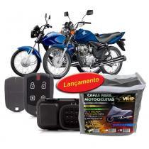 Alarme Moto CG150 Fan125 14 17 + Capa cobrir Moto s Forro G - Overvision