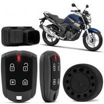 Alarme Moto Positron Duoblock FX 350 G8 Fazer 250 11 a 16 Lander 06 a 16 Tenere 10 a 16 Presença -