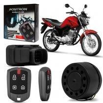 Alarme Moto Positron Duoblock FX 350 G8 Honda Titan Fan Cargo 2014 a 2016 Presença -