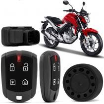 Alarme Moto Positron FX G8 Honda Twister 2016 Função Presença Sensor Movimento -