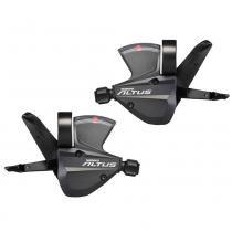 Alavanca Cambio Shimano Altus M370 De 27 Velocidades -