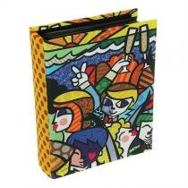 Álbum de Fotografias Romero Britto em Tecido 23x18x6cm - Trevisan Concept -