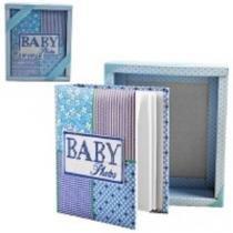 Album de fotos livro do bebe fotografico 100 fotos infantil criança azul - Gimp