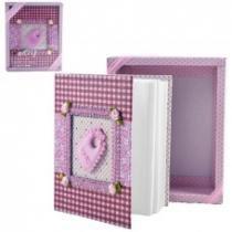 Album de fotos livro do bebe fotografico 100 fotos infantil criança rosa - Gimp