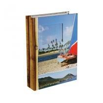 Álbum de Viagem - 100 fotos - 15x21 - Capa Dura - Janela personalizável - Yes