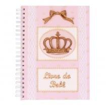 Album do Bebe Glad Baby Rosa Coroa - ÚNICO - GLAD BABY