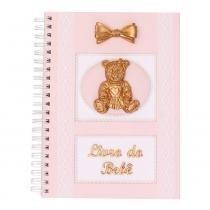 Album do bebe glad baby rosa urso - ÚNICO -