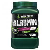 Albumin - 450g - Framboesa Com Coco - iron Army -