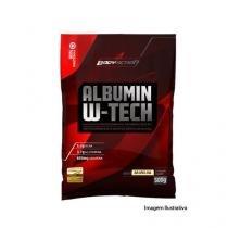 Albumin W-Tech - Refil Sabor Chocolate 500g - BodyAction -