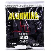 Albumina - 500g - Health Labs - Morango c/ Banana - Health Labs