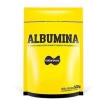 Albumina - 500g - Naturovos - Morango - Naturovos