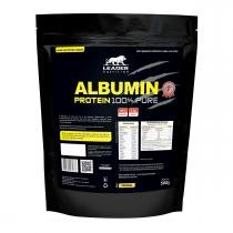 Albumina ALBUMIN 100 PURE - Leader Nutrition - Refil 500grs - Original - Leader Nutrition