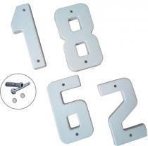 Algarismo Residêncial 20 cm 0 a 9 Mac com 10 - Comprenet