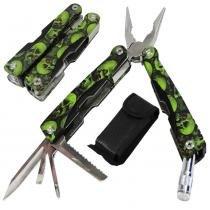 Alicate canivete multiuso kit ferramentas 6 em 1 wmtaa2-2 de aço inox - Wmt