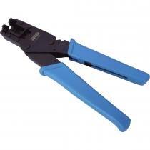 Alicate de Compressão PROFT-0016 Preto/Azul - Proeletronic - Proeletronic
