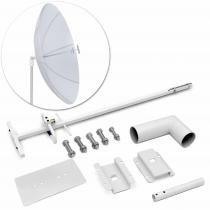 Alimentador Parábola Antena Captar Sinal Operadora Celular JFA 1821 1710/2160 Mhz 29dbi Área Rural -