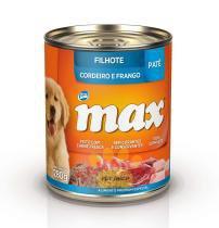Alimento Úmido Max Lata para Cães Filhotes - Total