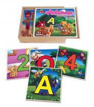 Alinhavos vogais e números - ABC BRINQUEDOS
